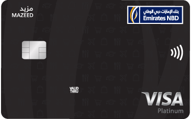 Mazeed Platinum Credit Card