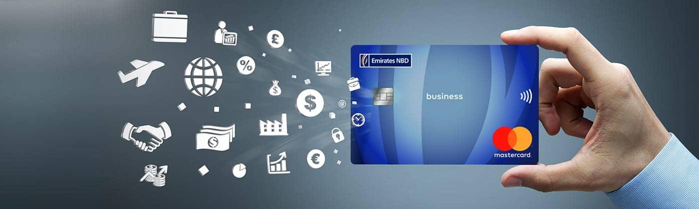 بطاقة الأعمال الإئتمانية