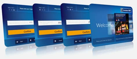 Withdraw cash from an Emirates NBD ATM without using a card