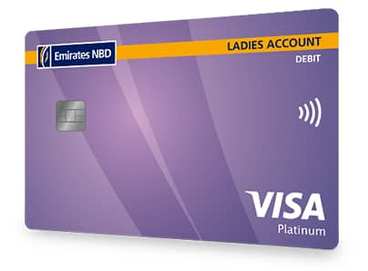 Ladies Banking Debit Card