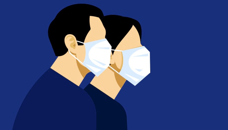 Starting from now and for your safety, all customers are requested to wear medical face masks before entering any of the bank's branches