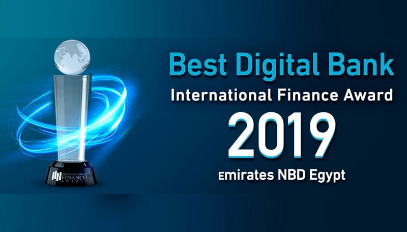 For the Third Consecutive Year, Emirates NBD Egypt wins International Finance's Best Digital Bank in Egypt 2019