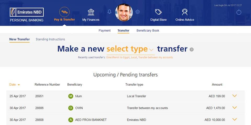 Emirates NBD Online Banking | Dubai & UAE