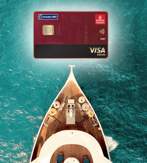 Skywards Savings Account and Visa Debit Card