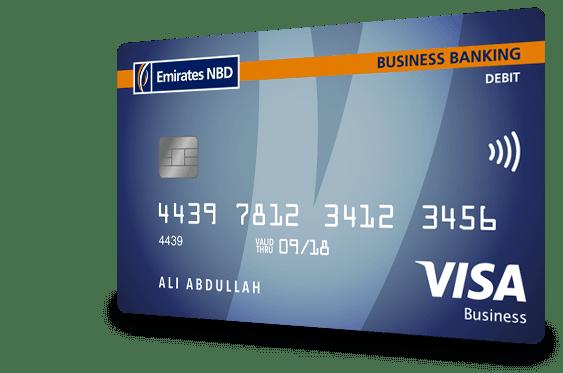 Visa Business Debit Card in UAE