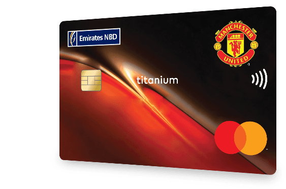 Manchester United Credit Card in UAE | Emirates NBD