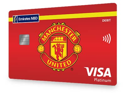Manchester United Platinum Debit Card
