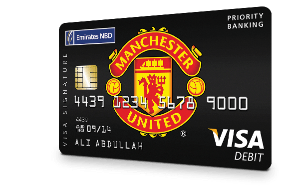 Manchester United Signature Debit Card
