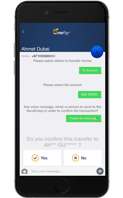 Emirates NBD mePay Cardless Withdrawal