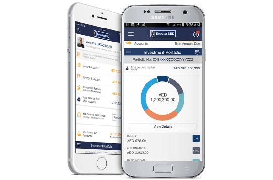 Emirates NBD Mobile Banking