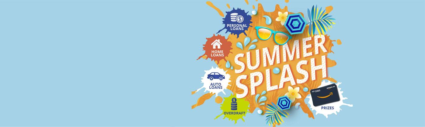 Summer Splash Loans offer