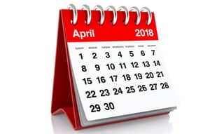 The Month that Was – April 2018