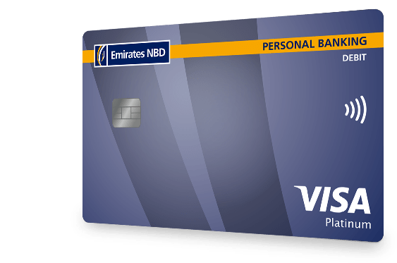 Visa Platinum Debit Card