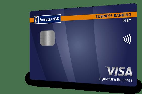 Visa signature business debit card colourmoves