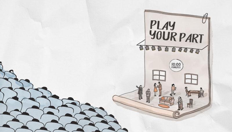 مهرجان دبي المسرحي