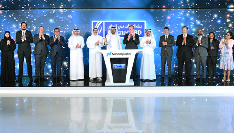 Emirates NBD rings market-opening bell to celebrate listing of a USD one billion bond on Nasdaq Dubai