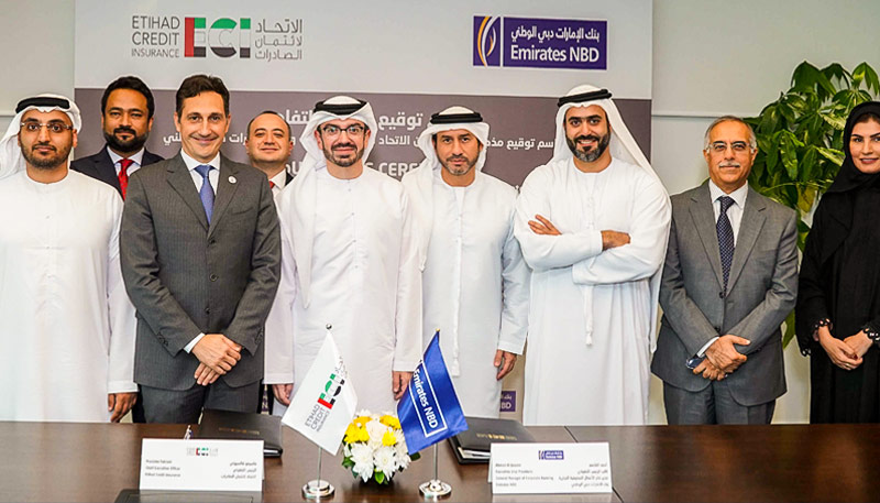Etihad Credit Insurance partners with Emirates NBD to empower UAE businesses in increasing their global footprint