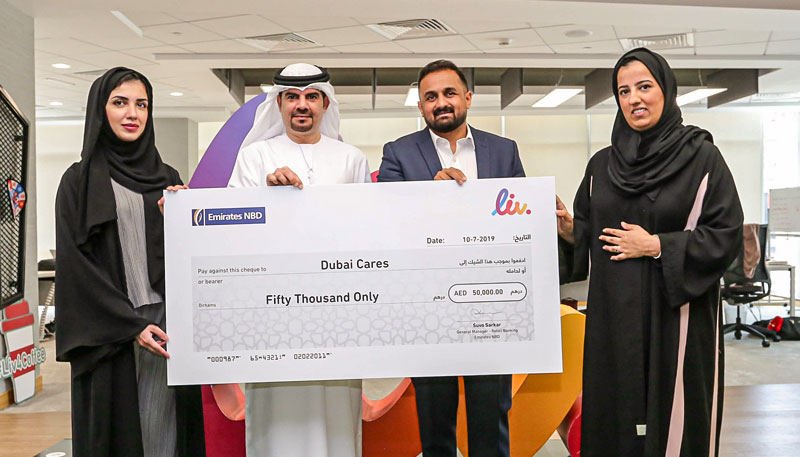 Liv. donates to Dubai Cares