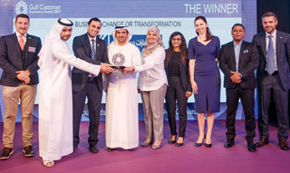 Emirates NBD's 'Tech+Touch' banking experience recognised at Gulf Customer Experience Awards ||Emirates NBD News