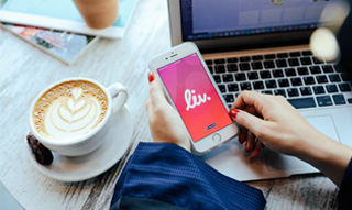 Splitting bills  instantly with friends via social media is now possible on Liv. ||Emirates NBD News
