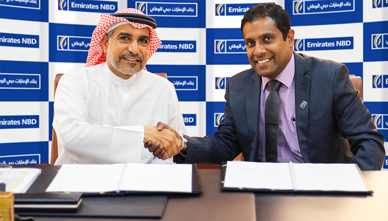 Emirates NBD signs with Pioneers Waseet Securities for General Clearing Member services ||Emirates NBD News