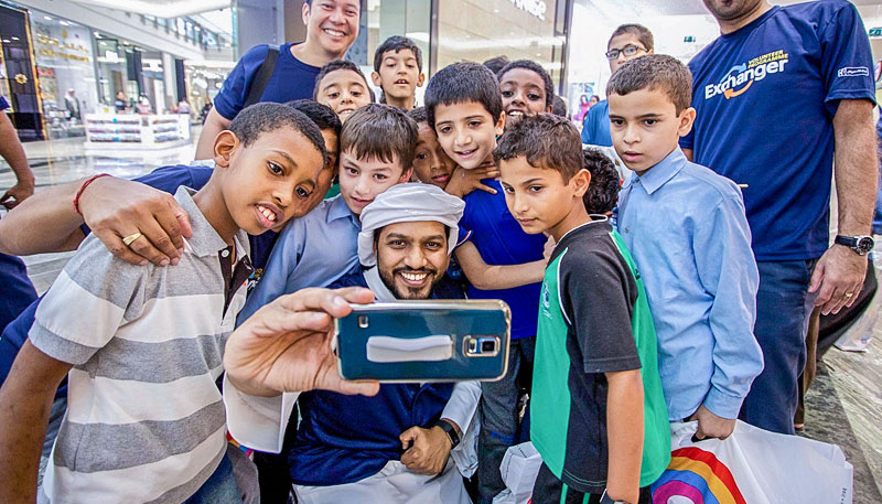 Emirates NBD Exchanger volunteer programme takes lead in supporting UAE community this Ramadan ||Emirates NBD News