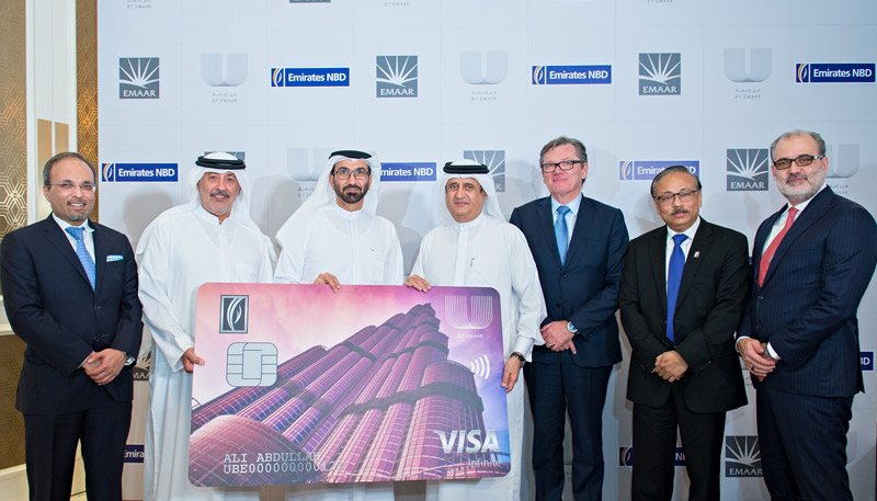 Emirates NBD and Emaar partner to introduce Dubai's most rewarding card programme,  Emirates NBD U By Emaar Visa Credit Card ||Emirates NBD News