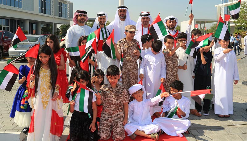Emirates NBD marks UAE Flag Day