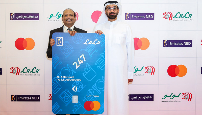 Emirates NBD and LuLu Group launch the  Emirates NBD LuLu 247 Mastercard Credit Card
