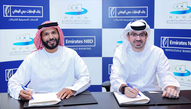 Emirates NBD signs Agreement with Dubai Land Department to provide trust account services for jointly owned properties