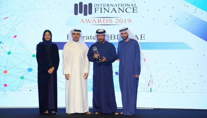 Emirates NBD wins 'Best SME Bank of the Year' at International Finance Magazine (IFM) Awards 2019