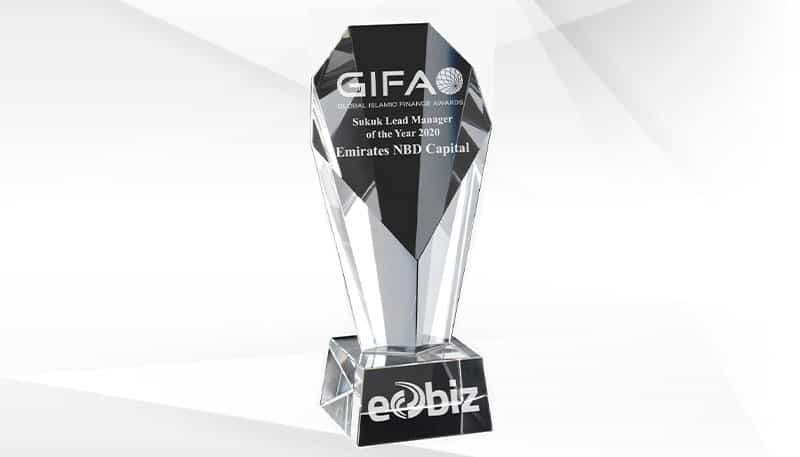 Emirates NBD Capital named Sukuk Lead Manager of the Year 2020 by GIFA