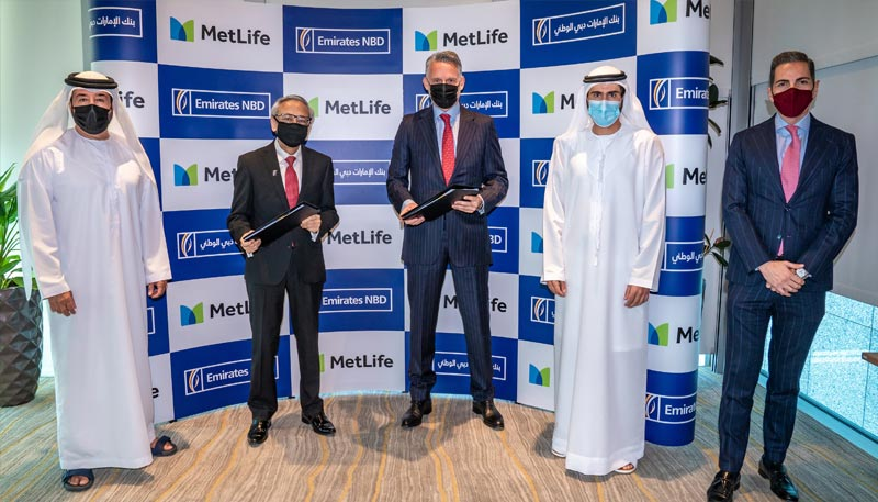 Emirates NBD and MetLife form strategic partnership