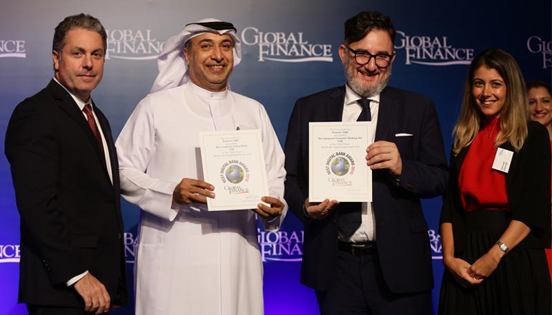 Emirates NBD recognized as 'The Innovator' in the Middle East by Global Finance ||Emirates NBD News